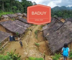 open trip baduy murah