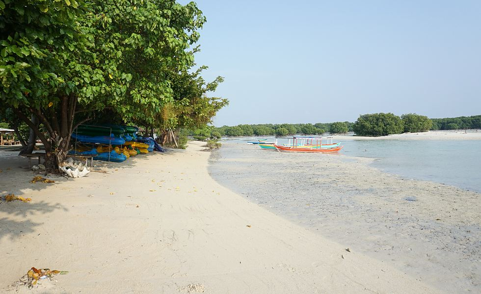 Begini Romantisnya Alam Pulau Pari Kepulauan Seribu